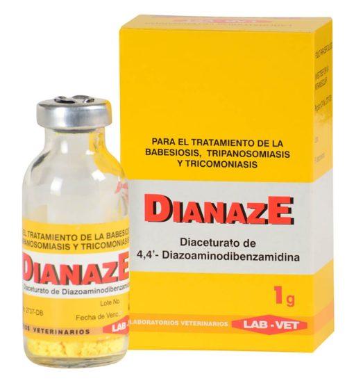 Dianaze inyectable antiparasitario para bovinos, equinos y caninos