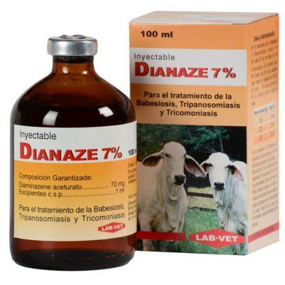 Dianaze inyectable Parasiticidas Veterinarios