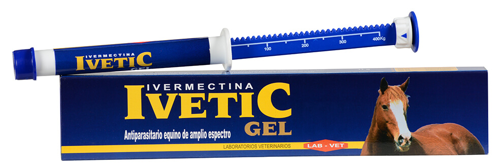 Ivetic Gel antiparasitario para equinos