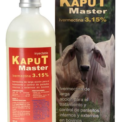 Kaput Master antiparasitario para bovinos y cerdos