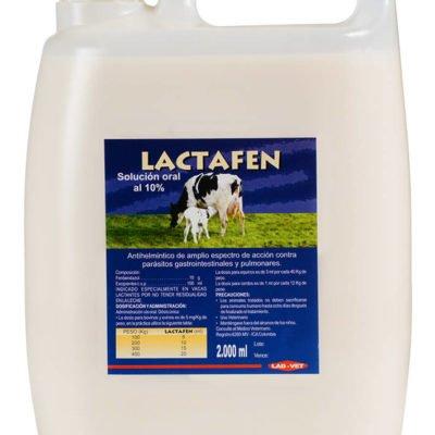 Lactafen antiparasitario para bovinos, ovinos, equinos y cerdos