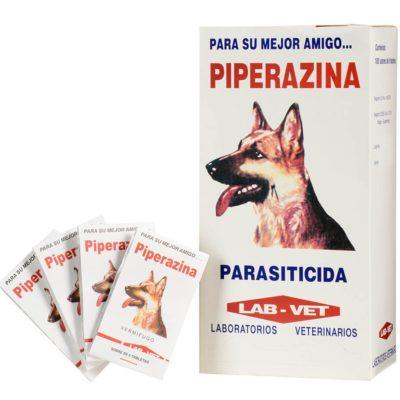 Piperazina Tabletas antiparasitario para perros y gatos